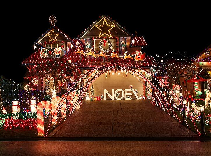 support image for Everything you need to know about holiday lighting costs article