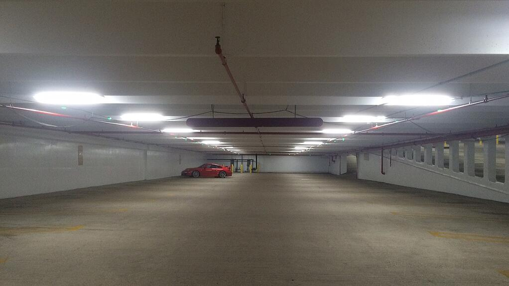 after image of retrofitted garage
