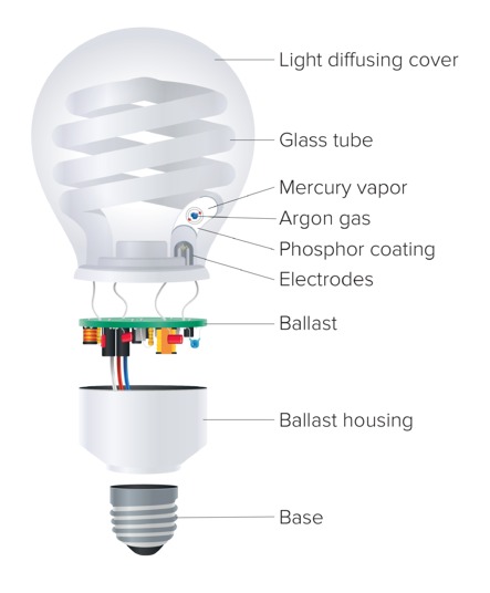 Regency Lighting What Are CFL Bulbs And Where Should They Be Used Diagram Of